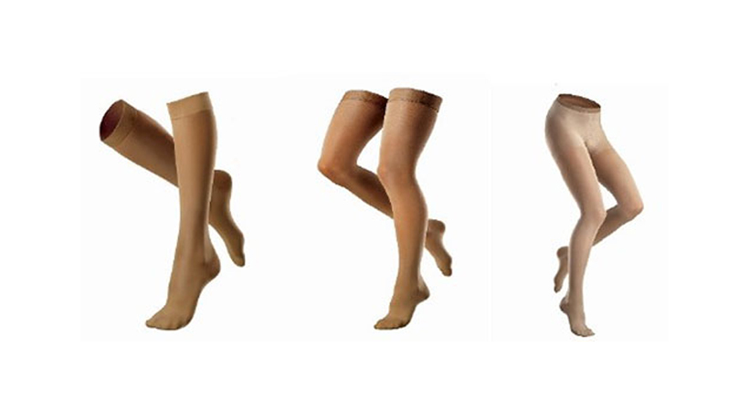 Compression Knee highs, Thigh highs, Pantyhose