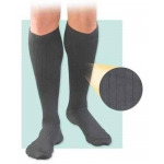 Activa Men's Microfiber Compression Knee Sock Leg Image