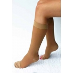 CLEARANCE Women's Thick Sheer Knee High Short Length