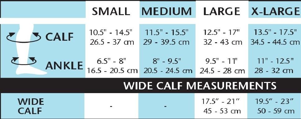 15-20 mmHg Support Sheer Compression   Venosan Knee High